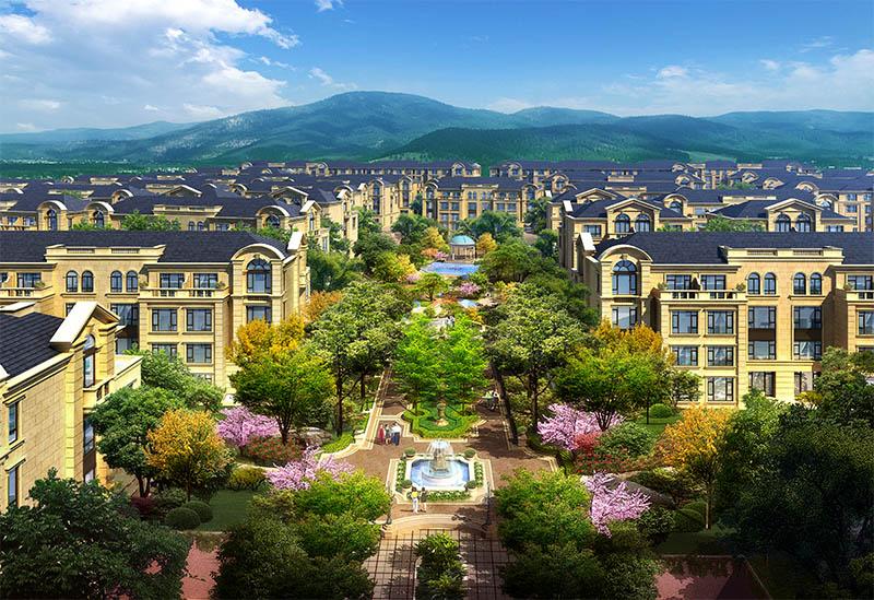 北京买别墅不能错过的燕西华府